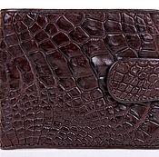 Сумки и аксессуары handmade. Livemaster - original item Wallet crocodile leather IMA0227K5. Handmade.
