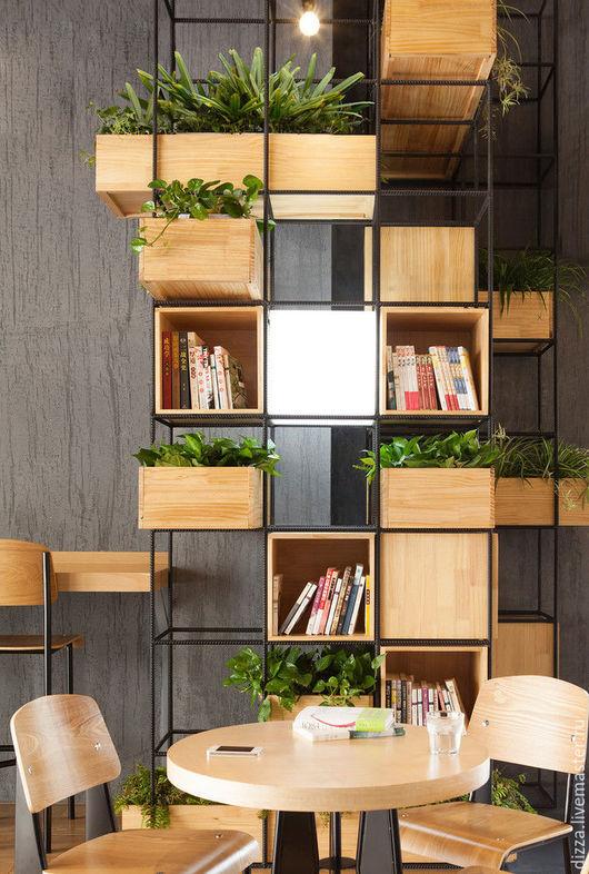 Модульная система хранения и генерации чистого воздуха для отдыха, работы, общения. Мебель из фанеры для офиса и дома. Изготовление мебели из фанеры под заказ.