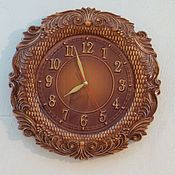 Для дома и интерьера handmade. Livemaster - original item Round wall clock for home.. Handmade.