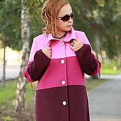 "Одежда handmade. Livemaster - original item Knitted coat ""Knots-2"". Handmade."