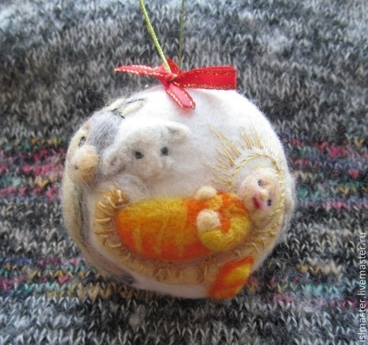 Ёлочный шар `Рождество`