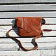 Женские сумки ручной работы. Заказать кожаная сумка ручной работы коричневая 3+. Migotobags. Ярмарка Мастеров.