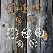 Материалы для творчества handmade. Livemaster - original item Cutting gears. Handmade.
