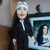 Куклы и игрушки ручной работы. Ярмарка Мастеров - ручная работа портретная кукла на заказ. Handmade.