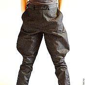 Одежда ручной работы. Ярмарка Мастеров - ручная работа Брюки-галифе женские. Handmade.