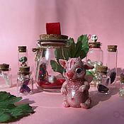 Куклы и игрушки ручной работы. Ярмарка Мастеров - ручная работа Pocket Troll. Карманный тролль в баночке. В одном экземпляре.. Handmade.