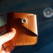Сумки и аксессуары handmade. Livemaster - original item Purse genuine leather handmade. Handmade.