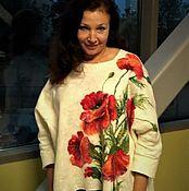 Одежда handmade. Livemaster - original item Felted sweater