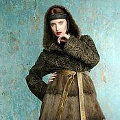 """Одежда ручной работы. Ярмарка Мастеров - ручная работа Шубка""""Белка и каракуль"""". Handmade."""