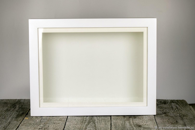 3D-рамка Глубокие рамки Рамки для слепков, Витрина для коллекций, Москва,  Фото №1