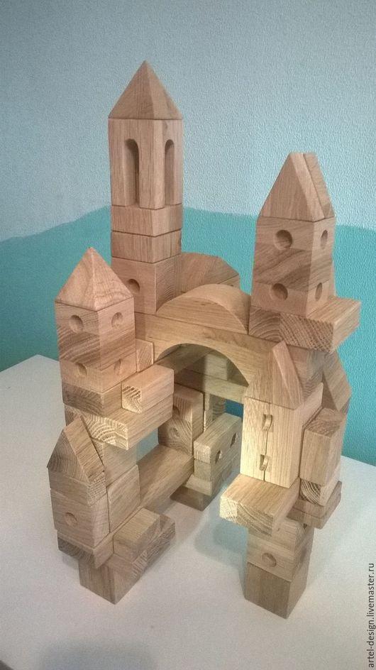 Развивающие игрушки ручной работы. Ярмарка Мастеров - ручная работа. Купить Конструктор деревянный. Handmade. Комбинированный, Конструктор, экоконструктор