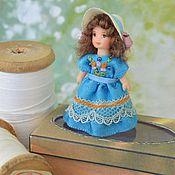 Куклы и игрушки ручной работы. Ярмарка Мастеров - ручная работа Кукла для куклы миниатюрная  4.5 см.. Handmade.