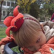 Работы для детей, ручной работы. Ярмарка Мастеров - ручная работа Корона для Девочки-Феечки. Handmade.