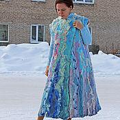 Одежда handmade. Livemaster - original item Felted coat