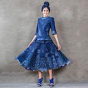Одежда ручной работы. Ярмарка Мастеров - ручная работа Валяный костюм Пэчворк. Handmade.