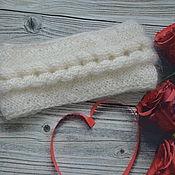 Аксессуары handmade. Livemaster - original item Beautiful down bandage on the head. Handmade.