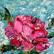 Картины и панно handmade. Livemaster - original item Oil painting Peonies. Handmade.