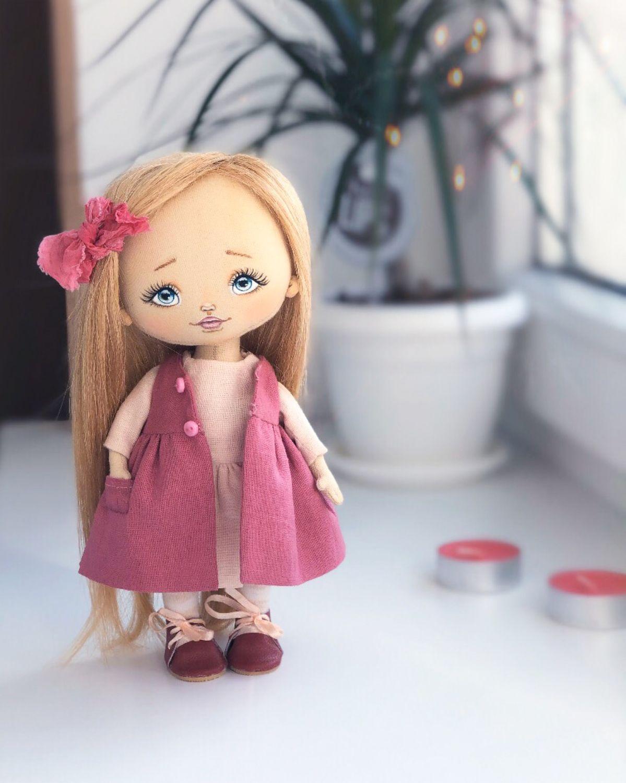 Текстильная кукла ручной работы, Куклы и пупсы, Калининград,  Фото №1