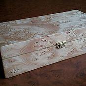 Для дома и интерьера ручной работы. Ярмарка Мастеров - ручная работа Шкатулка `` Тис ``. Handmade.