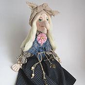 Баба Яга. Баба Яга Добруша. Текстильная кукла