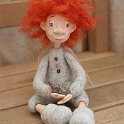 Куклы и игрушки ручной работы. Ярмарка Мастеров - ручная работа Воробушек. Handmade.