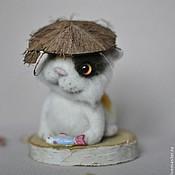 Куклы и игрушки ручной работы. Ярмарка Мастеров - ручная работа Хрюня кот. Handmade.