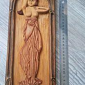 """Картины и панно ручной работы. Ярмарка Мастеров - ручная работа Картина из дерева """"На даче"""". Handmade."""