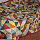 Текстиль, ковры ручной работы. Заказать Русское лоскутное одеяло. Пэчворк Маргариты Гордеевой (krasota). Ярмарка Мастеров. Квилтинг и пэчворк