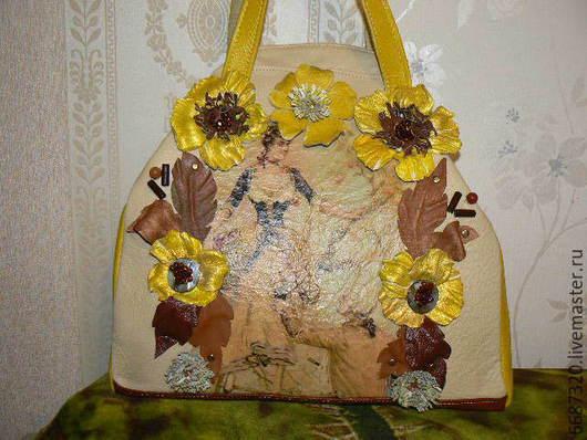 Женские сумки ручной работы. Ярмарка Мастеров - ручная работа. Купить сумка из кожи Королева  Солнечной долины 2. Handmade.