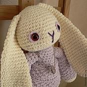 Куклы и игрушки ручной работы. Ярмарка Мастеров - ручная работа Белый кролик Лили. Handmade.