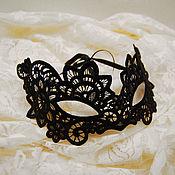 Одежда ручной работы. Ярмарка Мастеров - ручная работа Маска из кружева. Handmade.