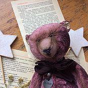 Мягкие игрушки ручной работы. Ярмарка Мастеров - ручная работа Медведь Жорж Михельсон. Handmade.