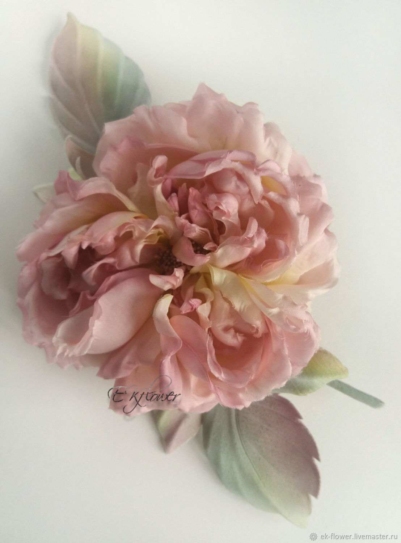 Silk flowers rose silk brooch french chic shop online on flowers handmade silk flowers rose silk brooch french chic mightylinksfo
