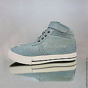 Обувь ручной работы handmade. Livemaster - original item Sneakers from Python SERENA. Handmade.