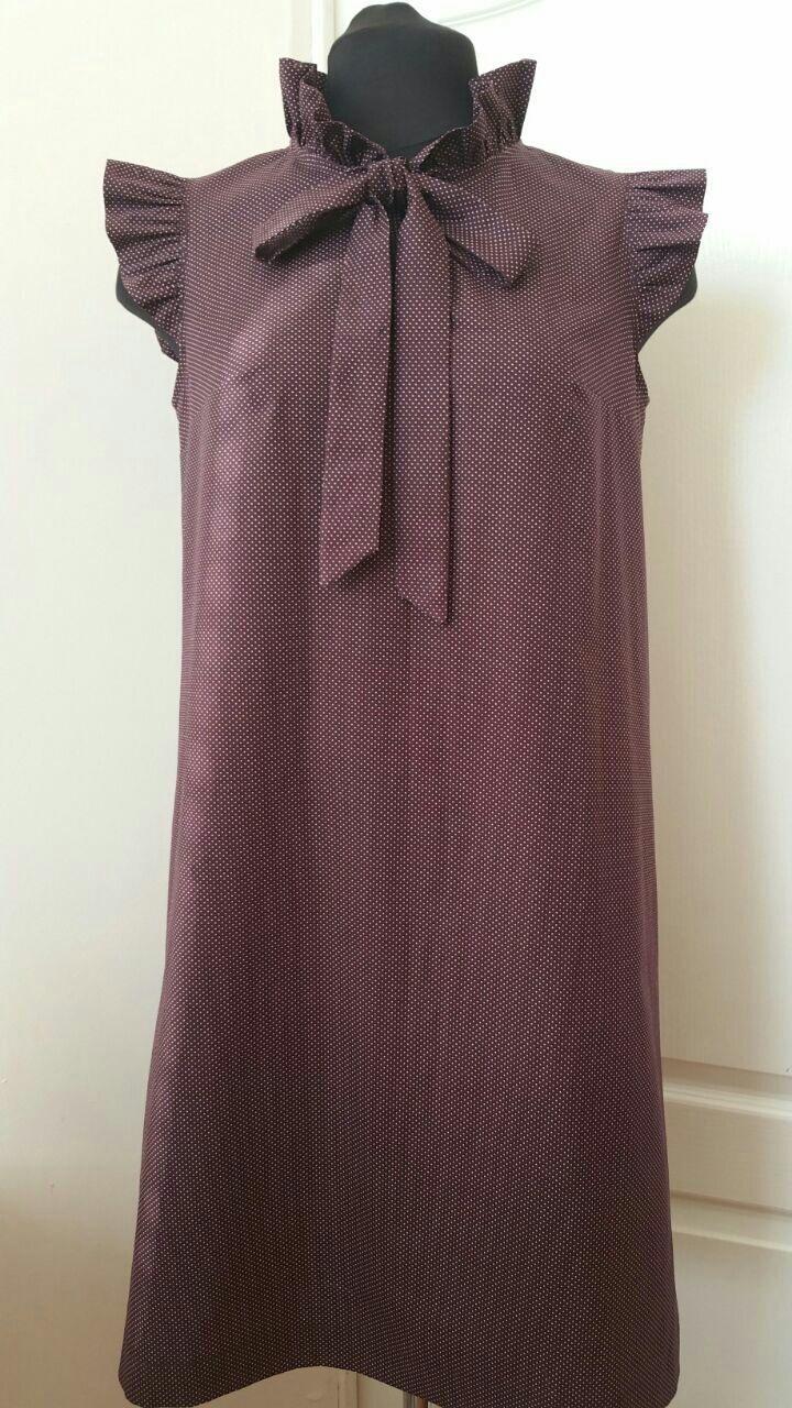 Платья ручной работы. Ярмарка Мастеров - ручная работа. Купить 346: Летнее платье свободное с рюшами. Handmade. Платье