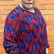 """Одежда ручной работы. Ярмарка Мастеров - ручная работа Джемпер мужской """"Калейдоскоп"""". Handmade."""