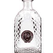 Сувениры и подарки handmade. Livemaster - original item SOVIET set for strong drinks - 6 glasses and a dispenser. Handmade.