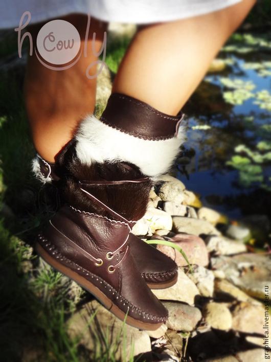 """Обувь ручной работы. Ярмарка Мастеров - ручная работа. Купить Кожаные мокасины """"Crazy Brown"""". Handmade. Коричневый, кожаная обувь"""