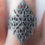 """Кольца ручной работы. Ярмарка Мастеров - ручная работа Кольцо """"Томира""""- цаворит, серебро. Handmade."""