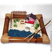 Подарки к праздникам ручной работы. Ярмарка Мастеров - ручная работа Японский садик Дом у озера. Handmade.