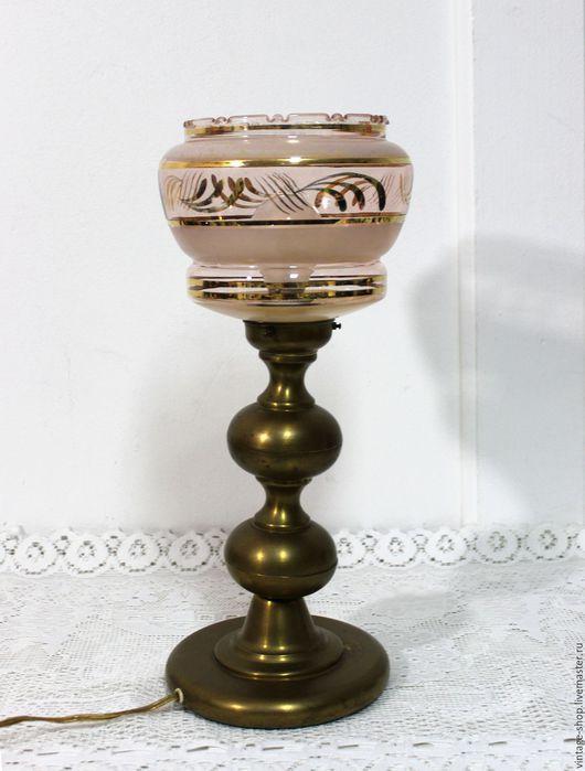 Винтажные предметы интерьера. Ярмарка Мастеров - ручная работа. Купить Антикварная настольная лампа, 1940-е года, Германия. Handmade.