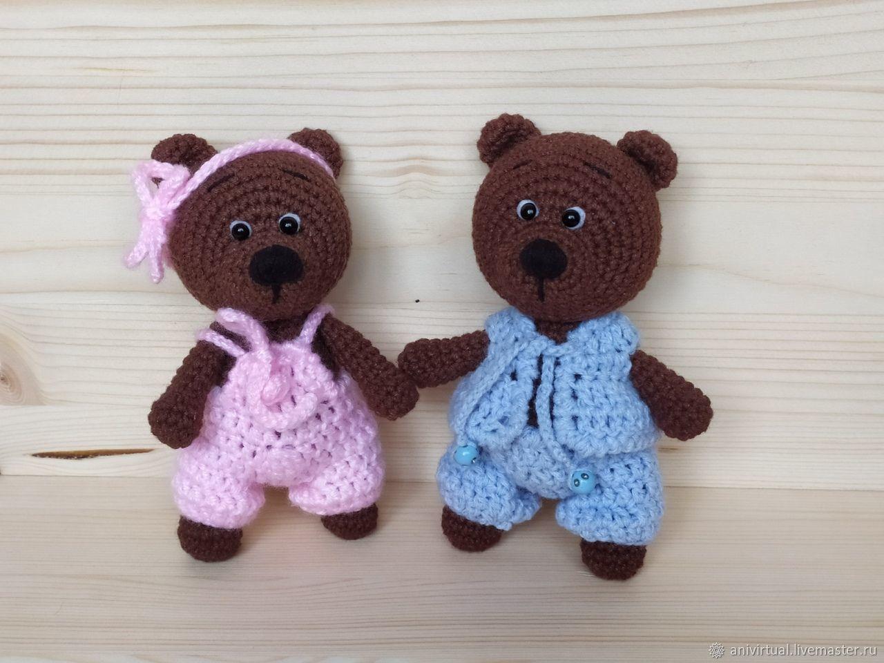 Милые медвежата, Мягкие игрушки, Челябинск,  Фото №1