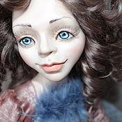 """Куклы и игрушки ручной работы. Ярмарка Мастеров - ручная работа Каркасная кукла """"Мэриан"""". Handmade."""