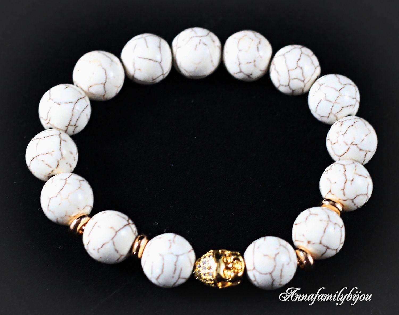 Bracelets Handmade Livemaster Buddha Bracelet For Men Gold