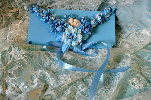 Свадебные открытки ручной работы. Ярмарка Мастеров - ручная работа. Купить Конверт подарочный. Handmade. Свадебный подарок, свадебные аксессуары