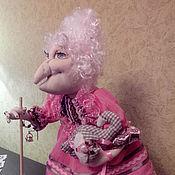 Куклы и игрушки ручной работы. Ярмарка Мастеров - ручная работа Интерьерная текстильная кукла - Баба Яга. Handmade.