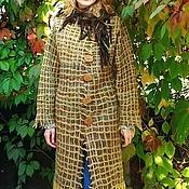 """Одежда ручной работы. Ярмарка Мастеров - ручная работа Пальто """". Handmade."""
