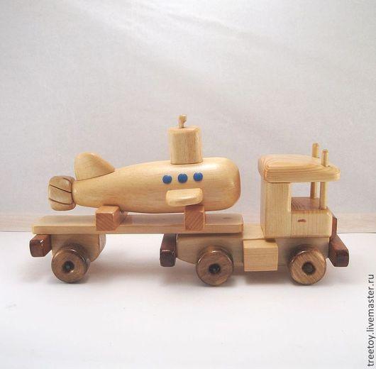 Техника ручной работы. Ярмарка Мастеров - ручная работа. Купить Машина с подводной лодкой. Handmade. Детская игрушка, автомобиль