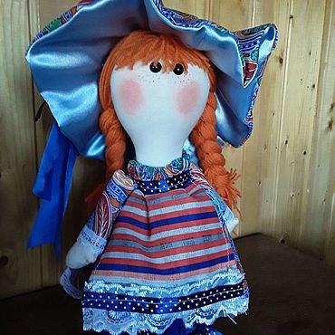 """Для дома и интерьера ручной работы. Ярмарка Мастеров - ручная работа Тильды: Куклы:""""Мила"""". Handmade."""