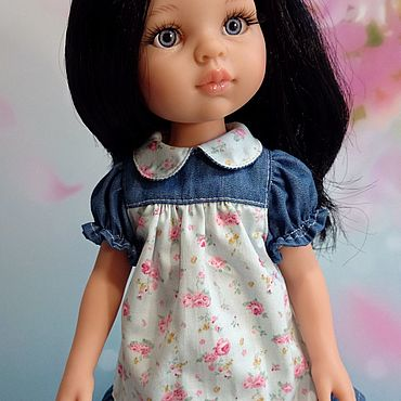Куклы и игрушки ручной работы. Ярмарка Мастеров - ручная работа Платье для кукол Paola Reina, Berjuan, Minouche и прочих. Handmade.